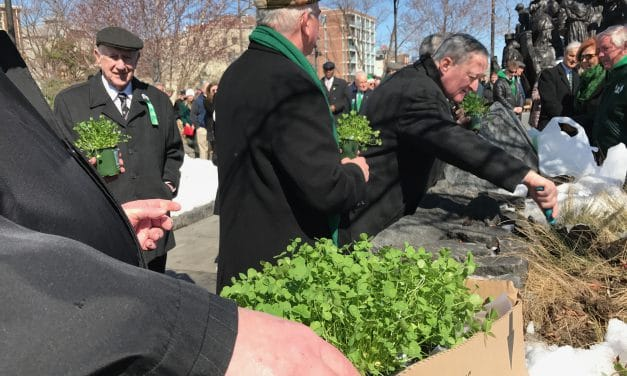 St. Patrick's Day at the Memorial!