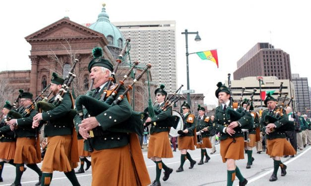 The 2018 Philadelphia Saint Patrick's Day Parade