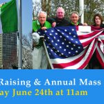 Flag Raising & Annual Mass Event